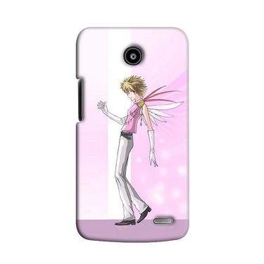 Snooky 38521 Digital Print Hard Back Case Cover For Lenovo A820 - Pink