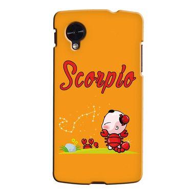 Snooky 35964 Digital Print Hard Back Case Cover For LG Google Nexus 5 - Yellow