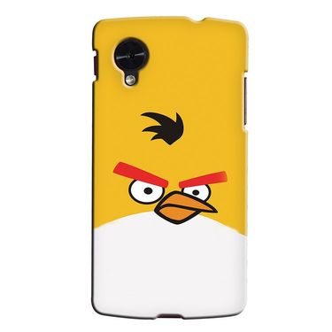 Snooky 35993 Digital Print Hard Back Case Cover For LG Google Nexus 5 - Yellow