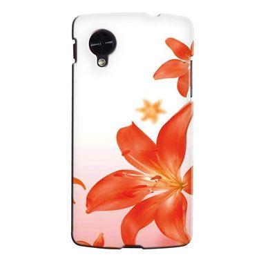 Snooky 35994 Digital Print Hard Back Case Cover For LG Google Nexus 5 - White