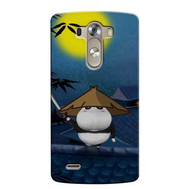 Snooky 37660 Digital Print Hard Back Case Cover For LG G3 - Blue