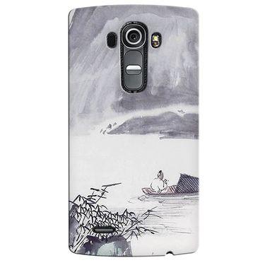 Snooky 37915 Digital Print Hard Back Case Cover For LG G4 - Grey