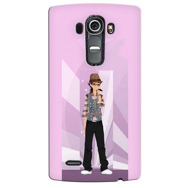 Snooky 37923 Digital Print Hard Back Case Cover For LG G4 - Pink