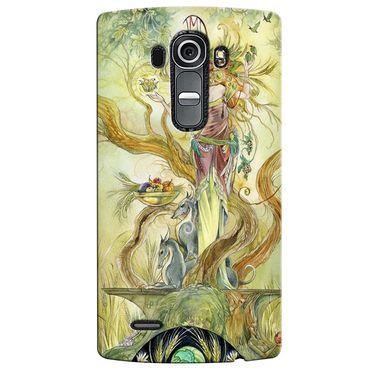 Snooky 37957 Digital Print Hard Back Case Cover For LG G4 - Green