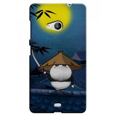Snooky 38060 Digital Print Hard Back Case Cover For Microsoft Lumia 535 - Blue
