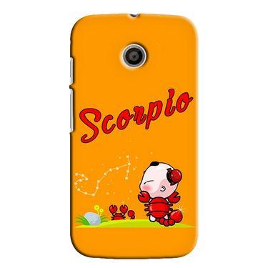 Snooky 35814 Digital Print Hard Back Case Cover For Motorola Moto E - Yellow
