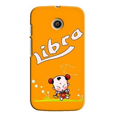 Snooky 35815 Digital Print Hard Back Case Cover For Motorola Moto E - Yellow