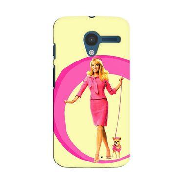 Snooky 35847 Digital Print Hard Back Case Cover For Motorola Moto X - Yellow
