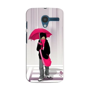 Snooky 35854 Digital Print Hard Back Case Cover For Motorola Moto X - Multicolour