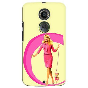 Snooky 35897 Digital Print Hard Back Case Cover For Motorola Moto X2 - Yellow