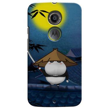 Snooky 35940 Digital Print Hard Back Case Cover For Motorola Moto X2 - Blue