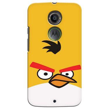 Snooky 35943 Digital Print Hard Back Case Cover For Motorola Moto X2 - Yellow