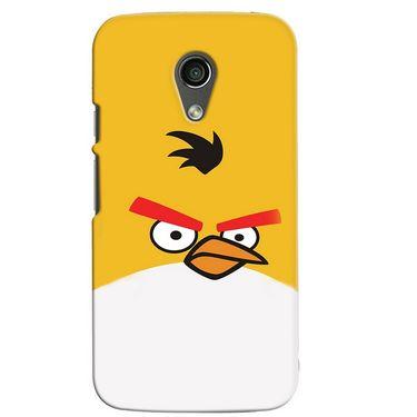 Snooky 38663 Digital Print Hard Back Case Cover For Motorola Moto G 2nd Gen - Yellow