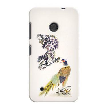 Snooky 37966 Digital Print Hard Back Case Cover For Nokia Lumia 530 - Cream