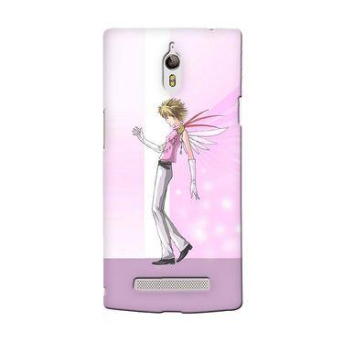 Snooky 36671 Digital Print Hard Back Case Cover For Oppo Find 7 - Pink