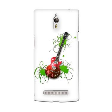 Snooky 36701 Digital Print Hard Back Case Cover For Oppo Find 7 - White
