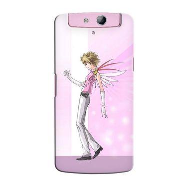 Snooky 36771 Digital Print Hard Back Case Cover For Oppo N1 Mini N5111 - Pink