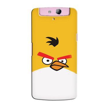 Snooky 36813 Digital Print Hard Back Case Cover For Oppo N1 Mini N5111 - Yellow