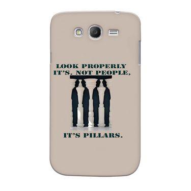 Snooky 35518 Digital Print Hard Back Case Cover For Samsung Galaxy Grand 2 - Cream