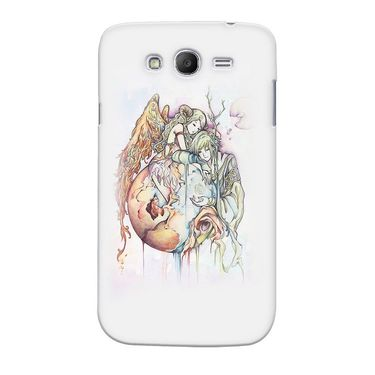 Snooky 35525 Digital Print Hard Back Case Cover For Samsung Galaxy Grand 2 - Multicolour