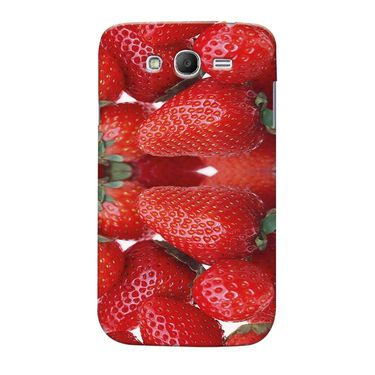 Snooky 35528 Digital Print Hard Back Case Cover For Samsung Galaxy Grand 2 - Red