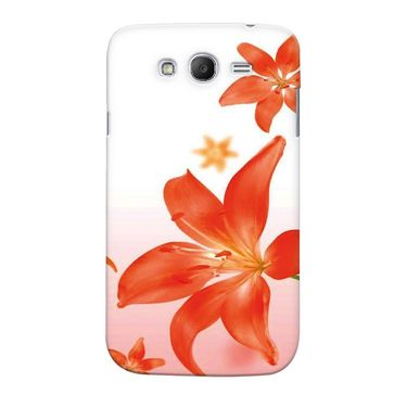 Snooky 35533 Digital Print Hard Back Case Cover For Samsung Galaxy Grand 2 - White