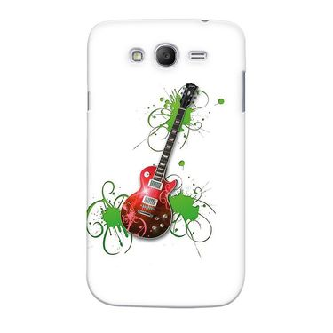Snooky 35570 Digital Print Hard Back Case Cover For Samsung Galaxy Grand Duos I9082 - White