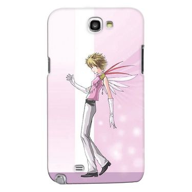 Snooky 35590 Digital Print Hard Back Case Cover For Samsung Galaxy Note 2 N7100 - Pink