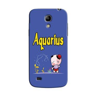 Snooky 35755 Digital Print Hard Back Case Cover For Samsung Galaxy S4 Mini I9192 - Purple