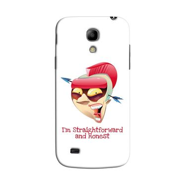 Snooky 35763 Digital Print Hard Back Case Cover For Samsung Galaxy S4 Mini I9192 - White