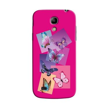 Snooky 35773 Digital Print Hard Back Case Cover For Samsung Galaxy S4 Mini I9192 - Pink