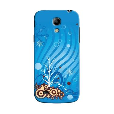 Snooky 35781 Digital Print Hard Back Case Cover For Samsung Galaxy S4 Mini I9192 - Blue