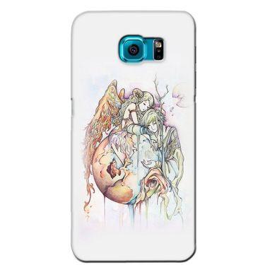 Snooky 36256 Digital Print Hard Back Case Cover For Samsung Galaxy S6 Edge - Multicolour