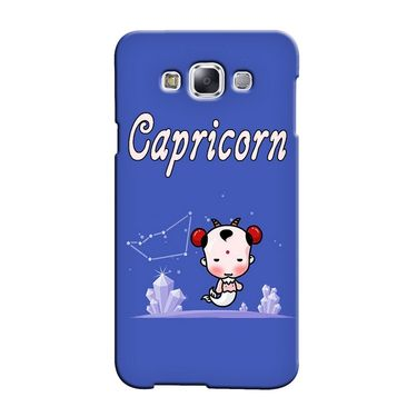 Snooky 36483 Digital Print Hard Back Case Cover For Samsung Galaxy E7 - Purple