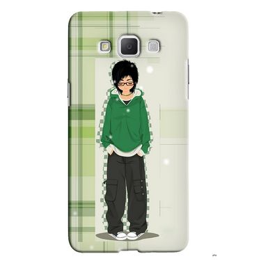 Snooky 36525 Digital Print Hard Back Case Cover For Samsung Galaxy Grand max - Green