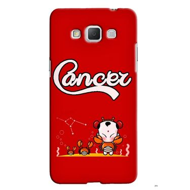 Snooky 36532 Digital Print Hard Back Case Cover For Samsung Galaxy Grand max - Red