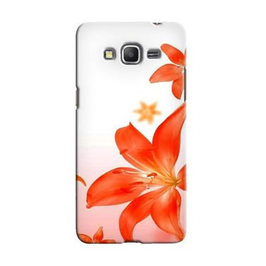 Snooky 36614 Digital Print Hard Back Case Cover For Samsung Galaxy Grand Prime - White