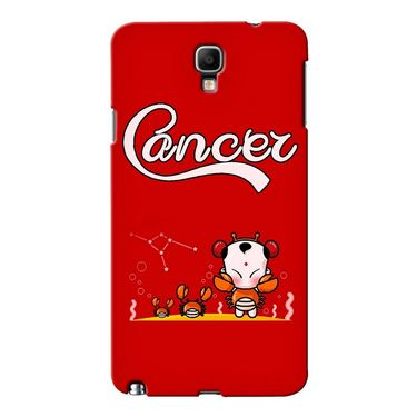 Snooky 36632 Digital Print Hard Back Case Cover For Samsung Galaxy Note 3 Neo - Red