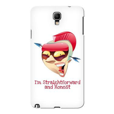Snooky 36644 Digital Print Hard Back Case Cover For Samsung Galaxy Note 3 Neo - White