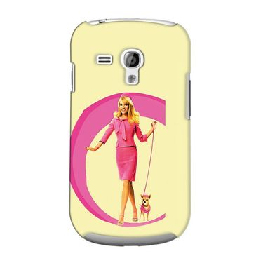 Snooky 36817 Digital Print Hard Back Case Cover For Samsung Galaxy S3 Mini - Yellow
