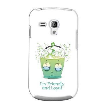 Snooky 36847 Digital Print Hard Back Case Cover For Samsung Galaxy S3 Mini - White