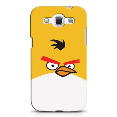 Snooky 38263 Digital Print Hard Back Case Cover For Samsung Galaxy Grand Quattro GT-I8552 - Yellow