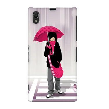 Snooky 37074 Digital Print Hard Back Case Cover For Sony Xperia Z1 - Multicolour