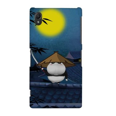 Snooky 37160 Digital Print Hard Back Case Cover For Sony Xperia Z2 - Blue