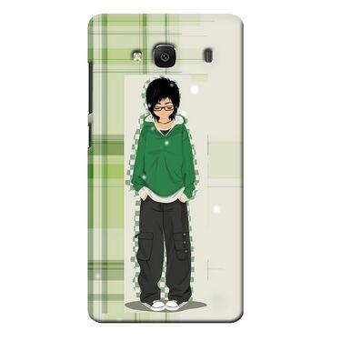 Snooky 36005 Digital Print Hard Back Case Cover For Xiaomi Redmi 2s - Green