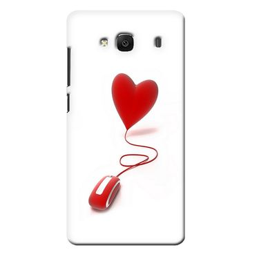 Snooky 36032 Digital Print Hard Back Case Cover For Xiaomi Redmi 2s - White