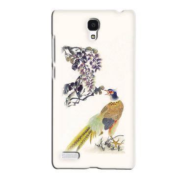 Snooky 36046 Digital Print Hard Back Case Cover For Xiaomi Redmi Note - Cream
