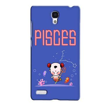 Snooky 36069 Digital Print Hard Back Case Cover For Xiaomi Redmi Note - Purple