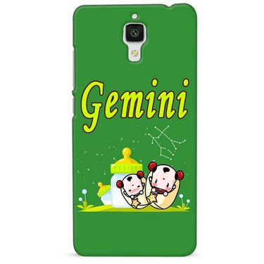Snooky 38437 Digital Print Hard Back Case Cover For Xiaomi MI 4 - Green