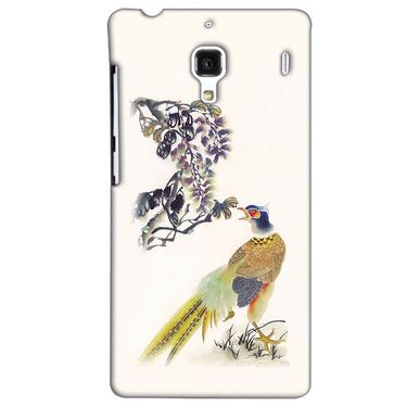 Snooky 38466 Digital Print Hard Back Case Cover For Xiaomi Redmi 1S - Cream